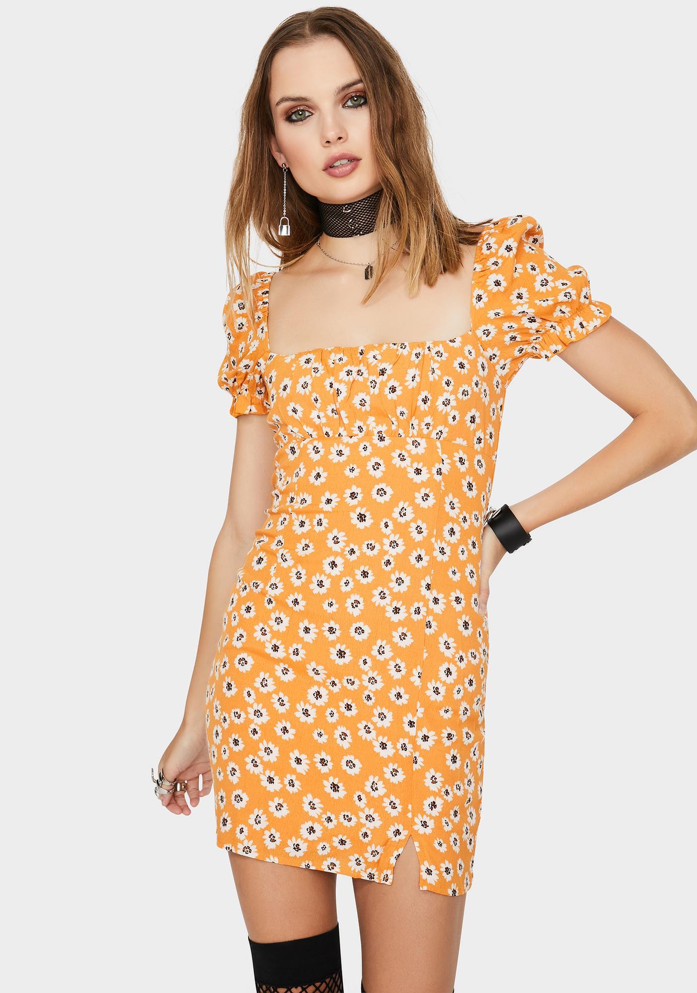 About A Girl Mini Dress