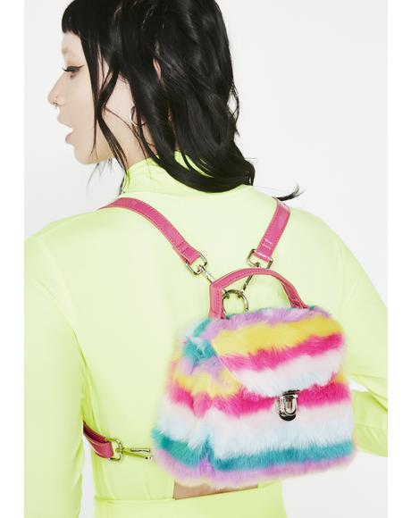 Rainbow Supernova Mini Backpack