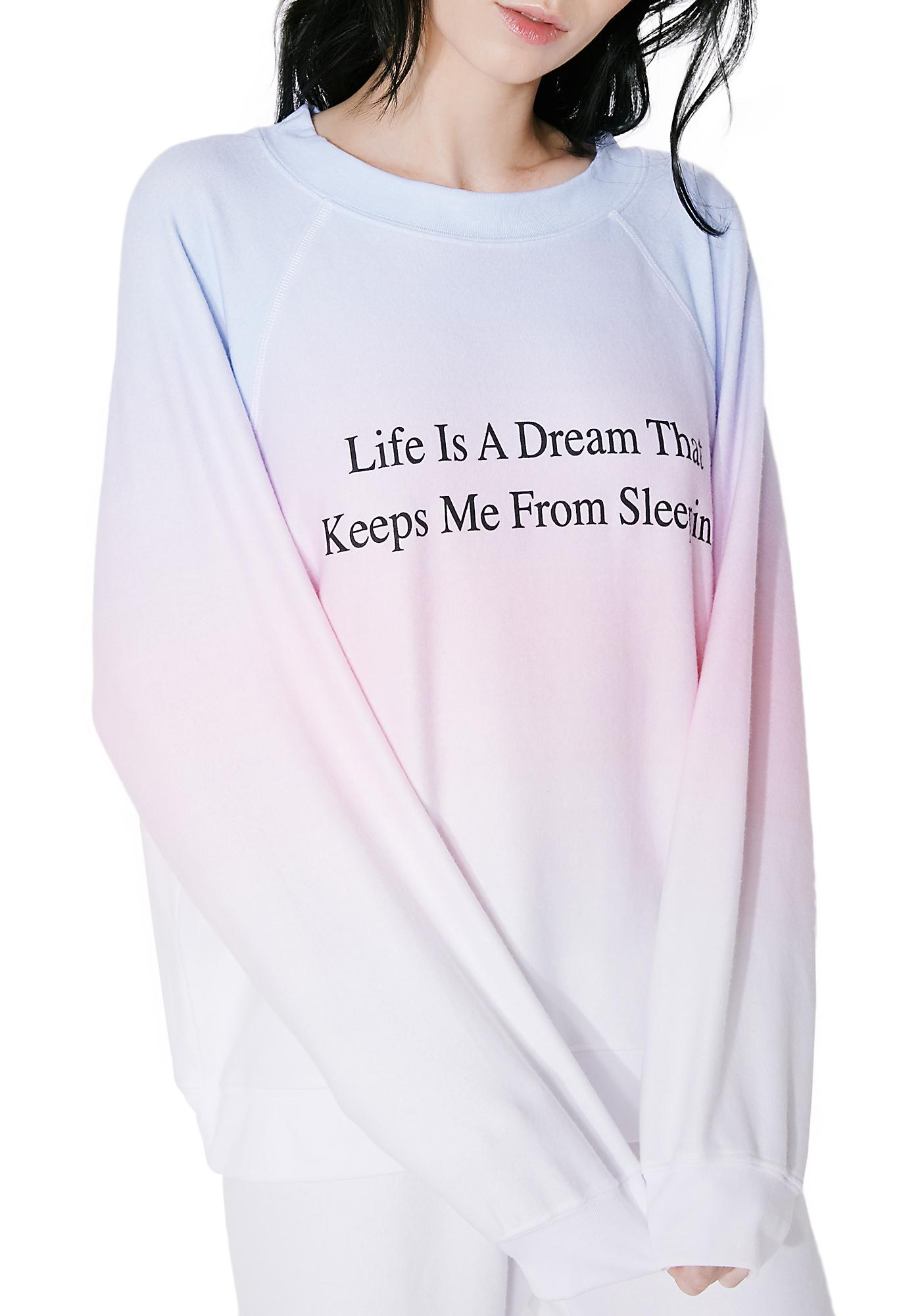 Wildfox Couture Life Is A Dream Sommers Sweater