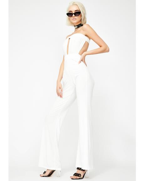 Luxe Paradise Strapless Jumpsuit
