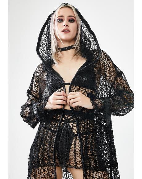 The Night Canyue Net Coat