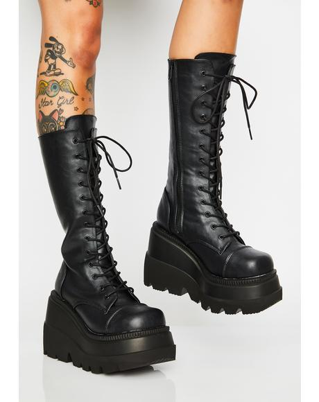 Wicked Twist Shaker Boots