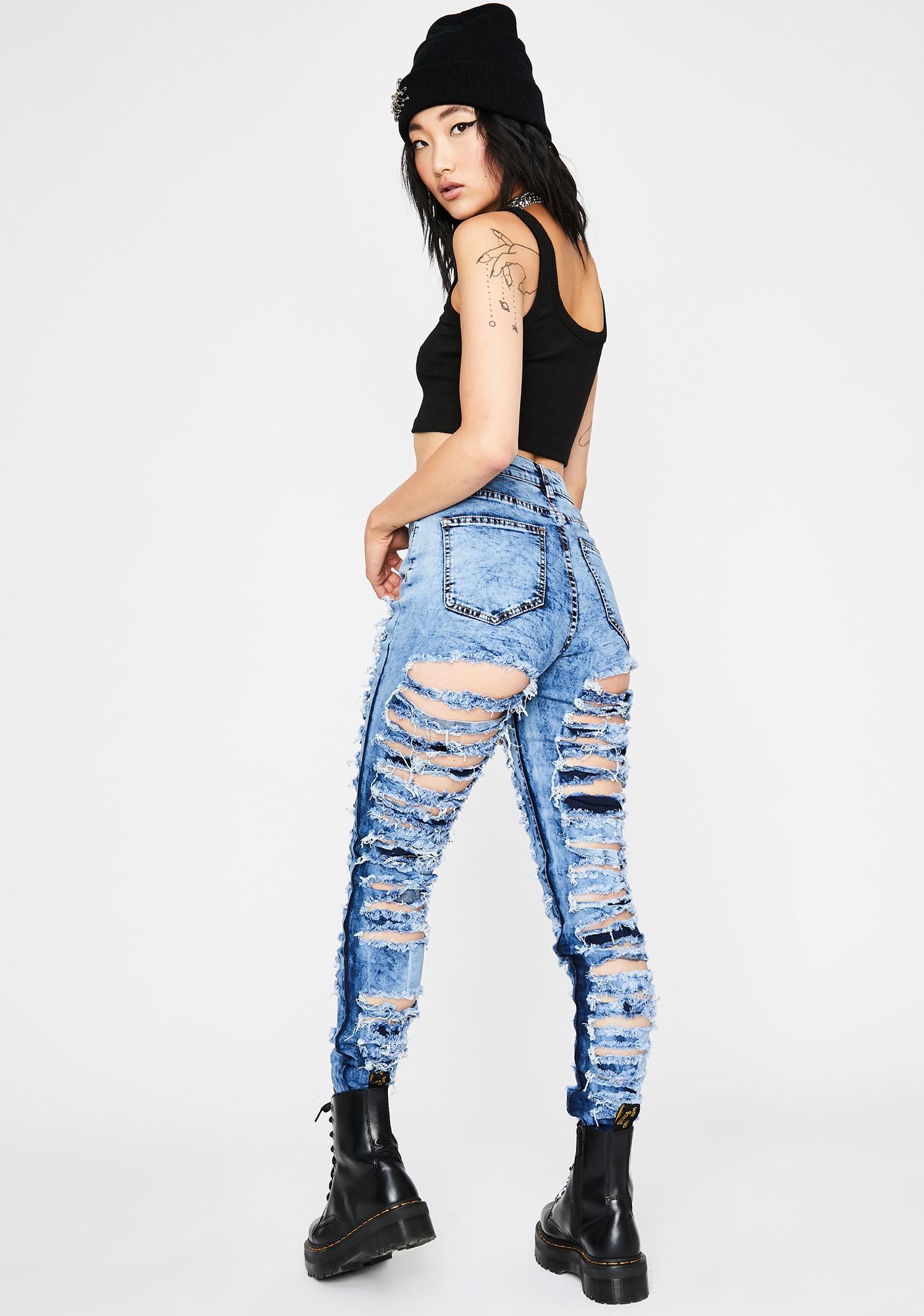 Riot Starter Distressed Jeans