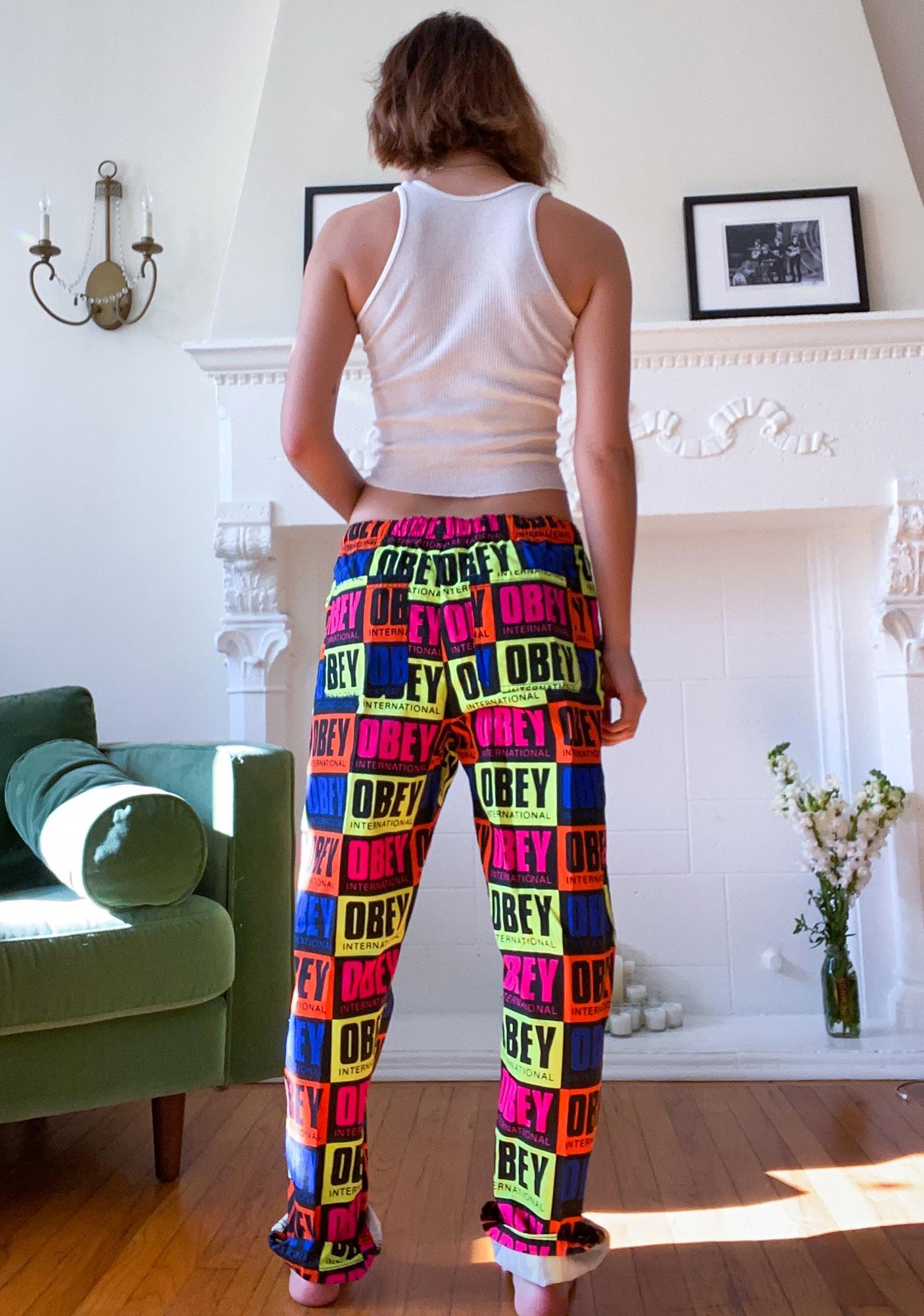 Obey Colorful Splash Pants