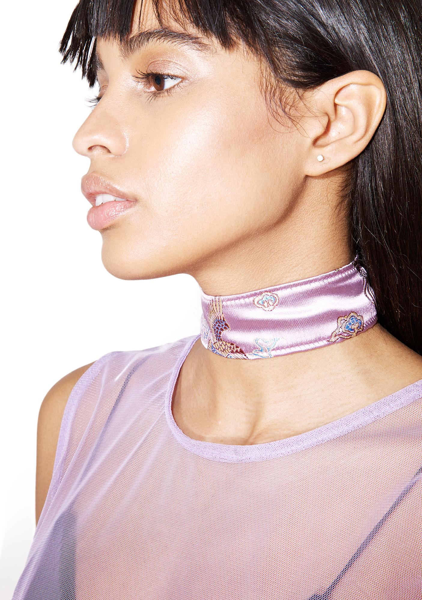 Fraiser Sterling Good Fortune Choker
