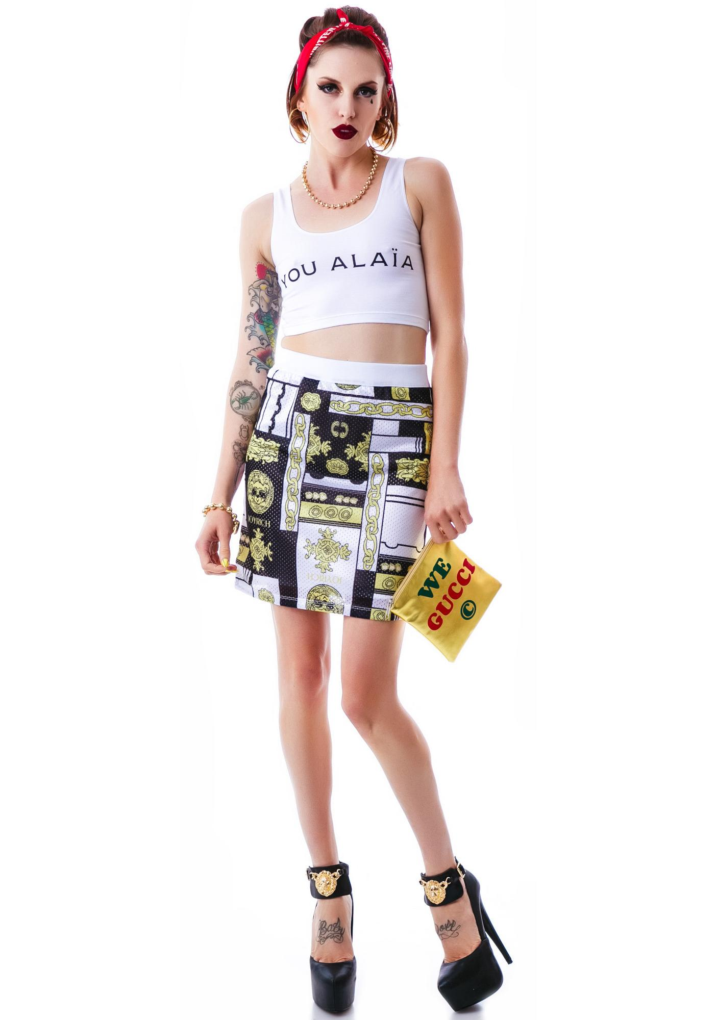 Joyrich Duo Versatile Mesh Skirt