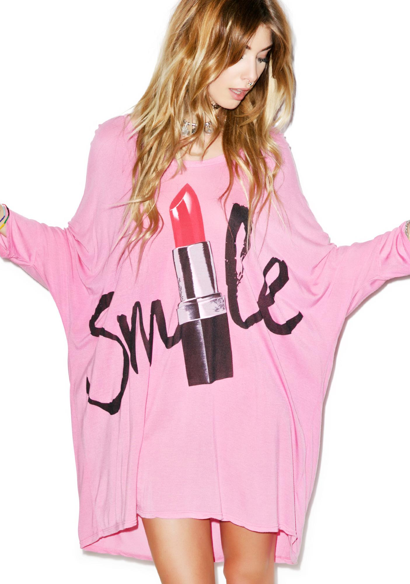 Lauren Moshi Milly Oversized Lipstick Dress