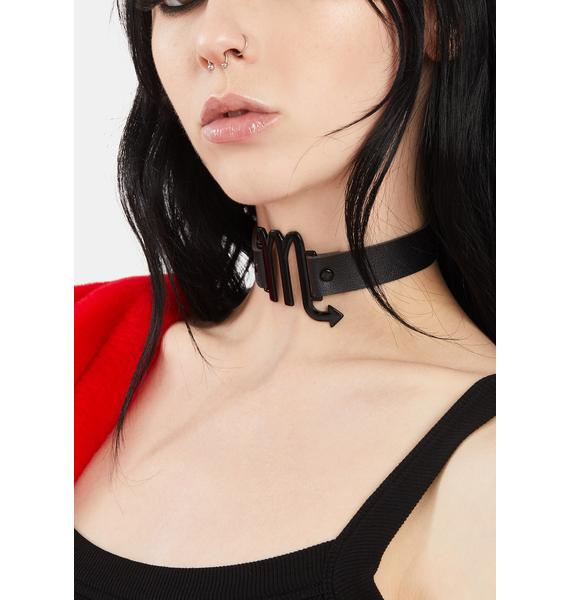 Eighth House Scorpio Choker