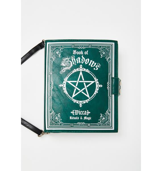 Widow Memoirs Of Wicca Crossbody Bag