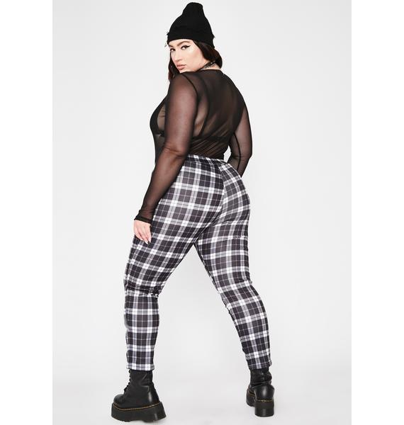 Got No Compromise Plaid Pants
