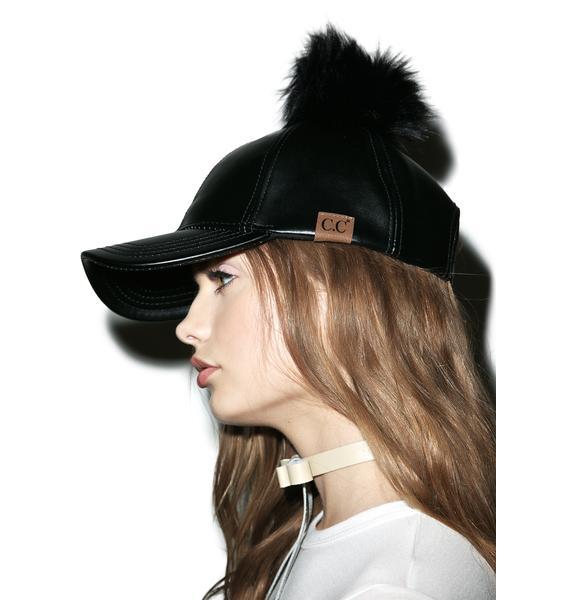 Fluff Off Pom Hat