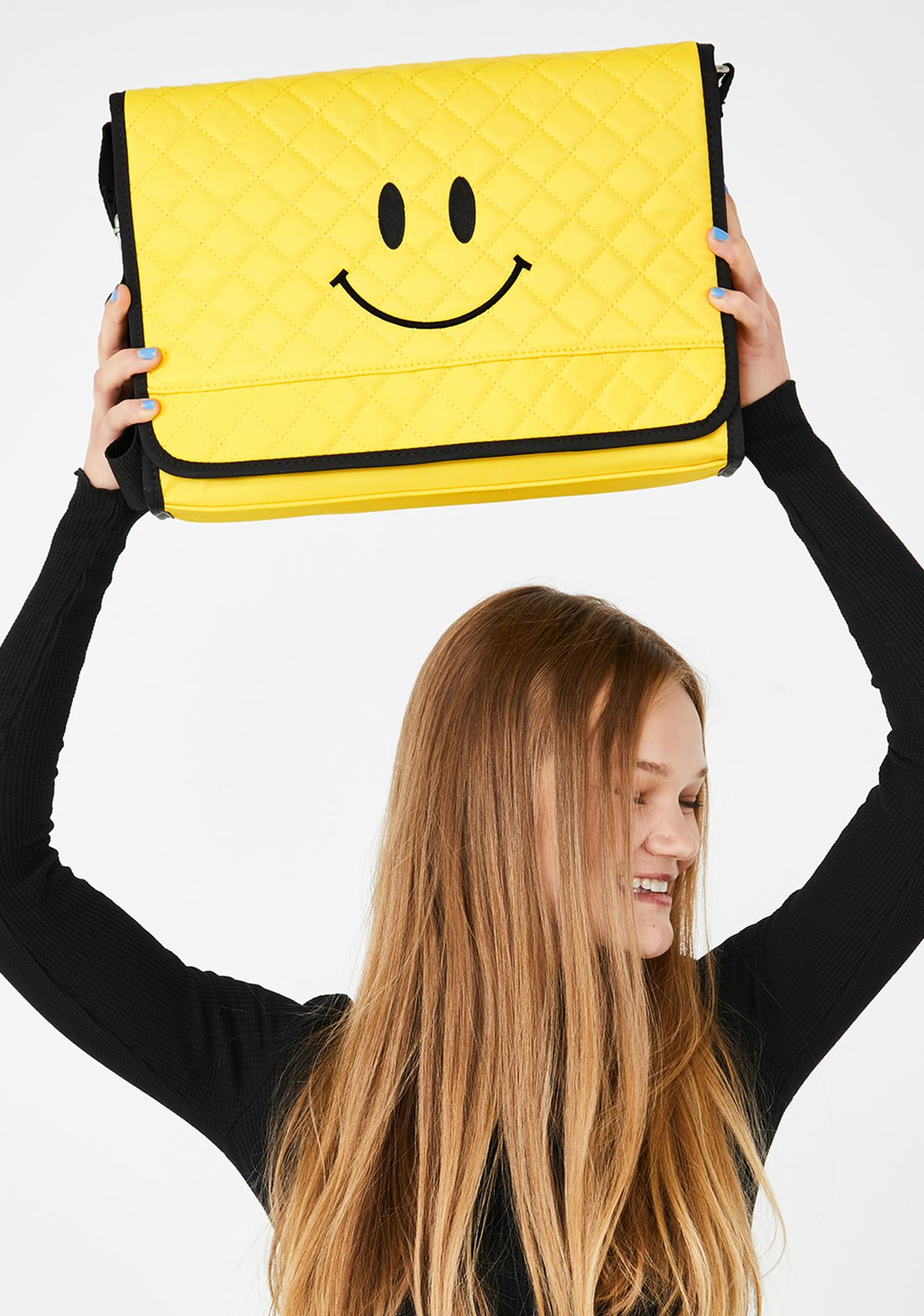 dELiA*s by Dolls Kill Sunshine Smiles Quilted Bag