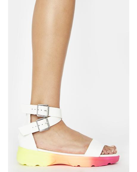 Icy Wutz The Catch Buckle Sandals