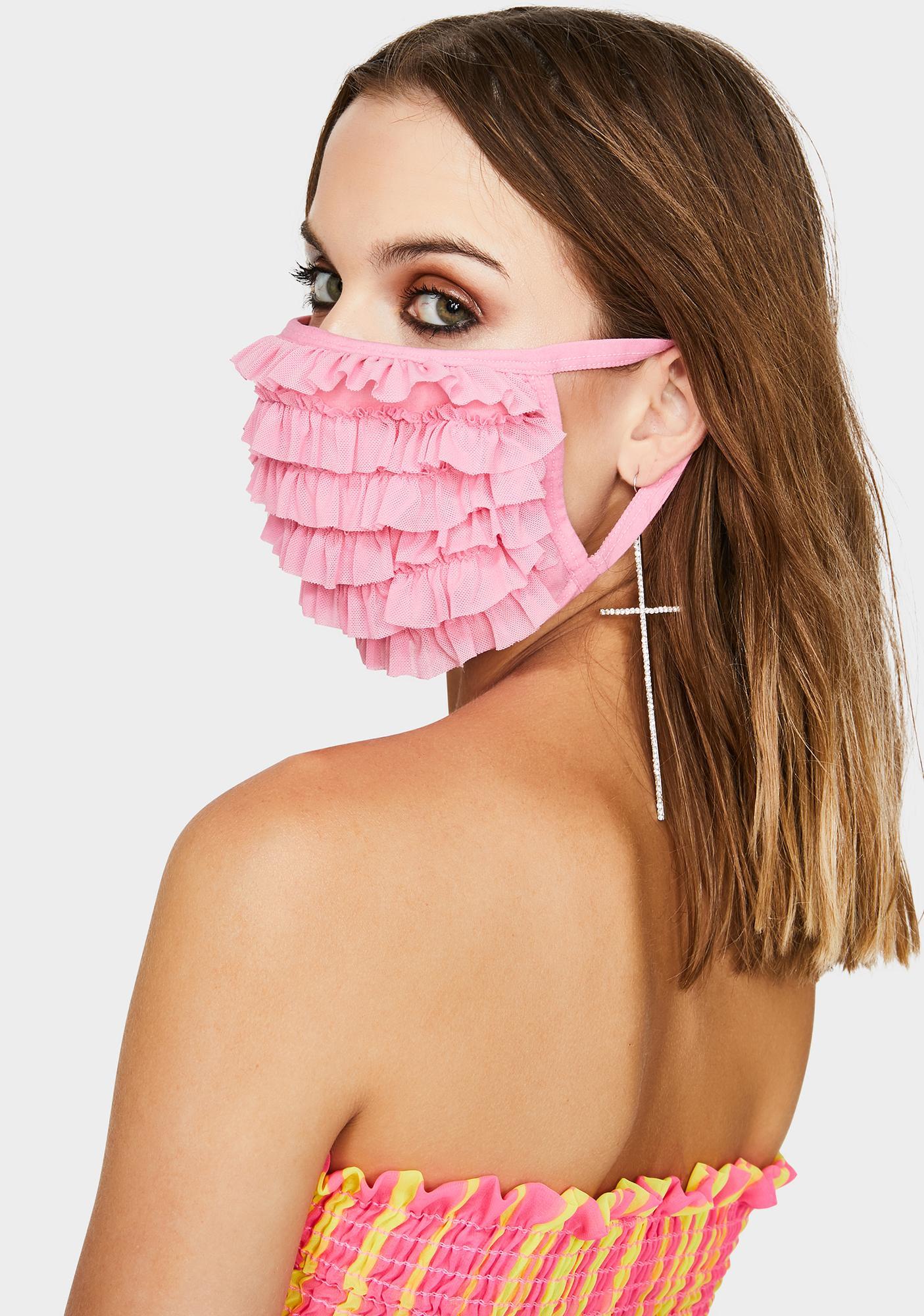 Sugar Thrillz Ain't She Precious Face Mask