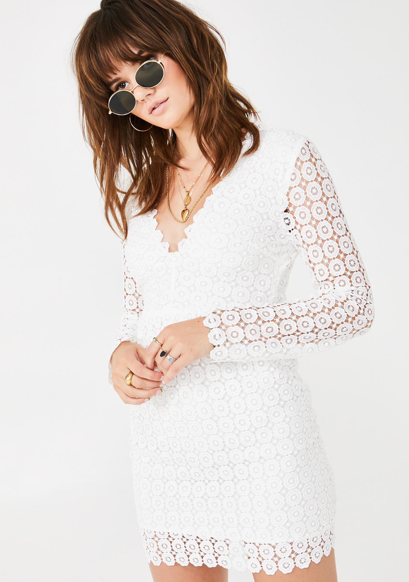 Sweet Spot Eyelet Dress