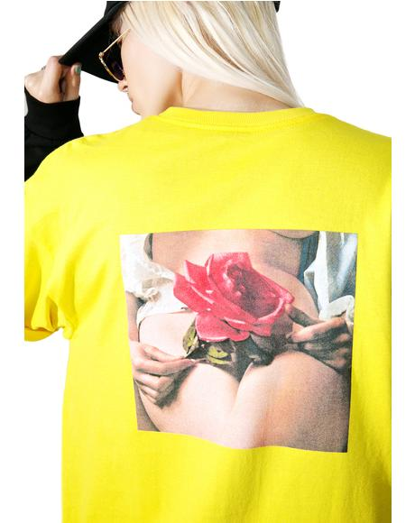 Penthouse Rose Tee