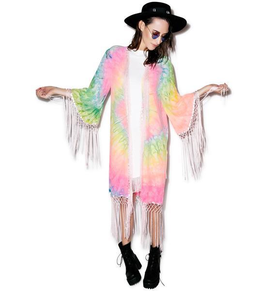 UNIF Blotter Kimono
