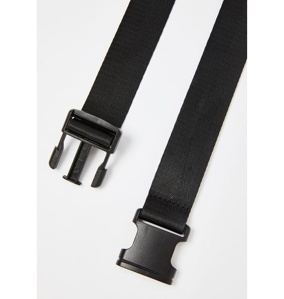 Get Checked Buckle Belt
