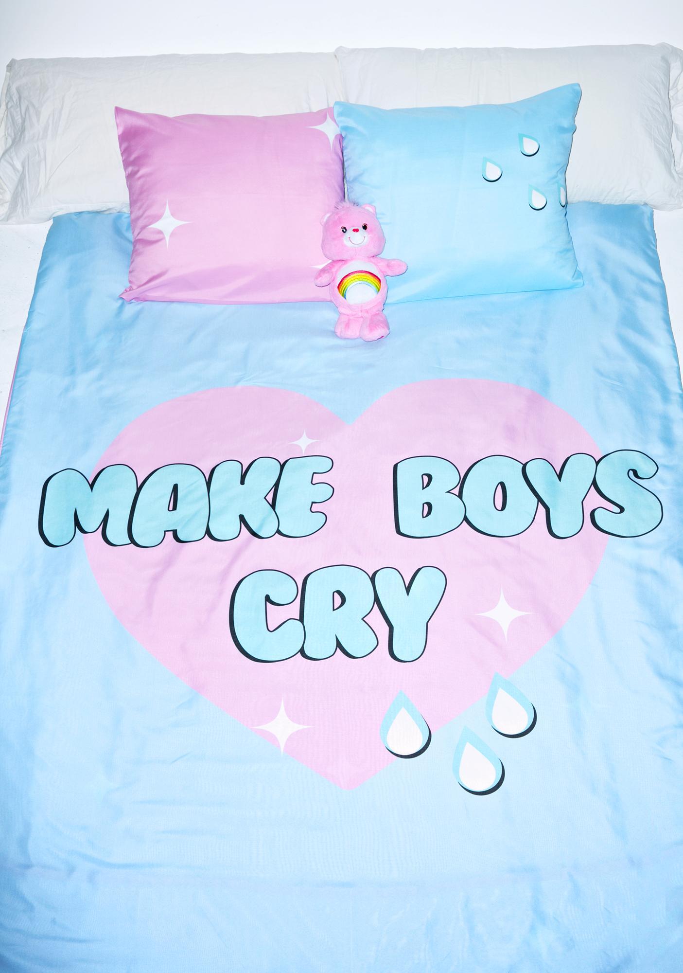 Sugarpills Make Boyz Cry Bed Sheets
