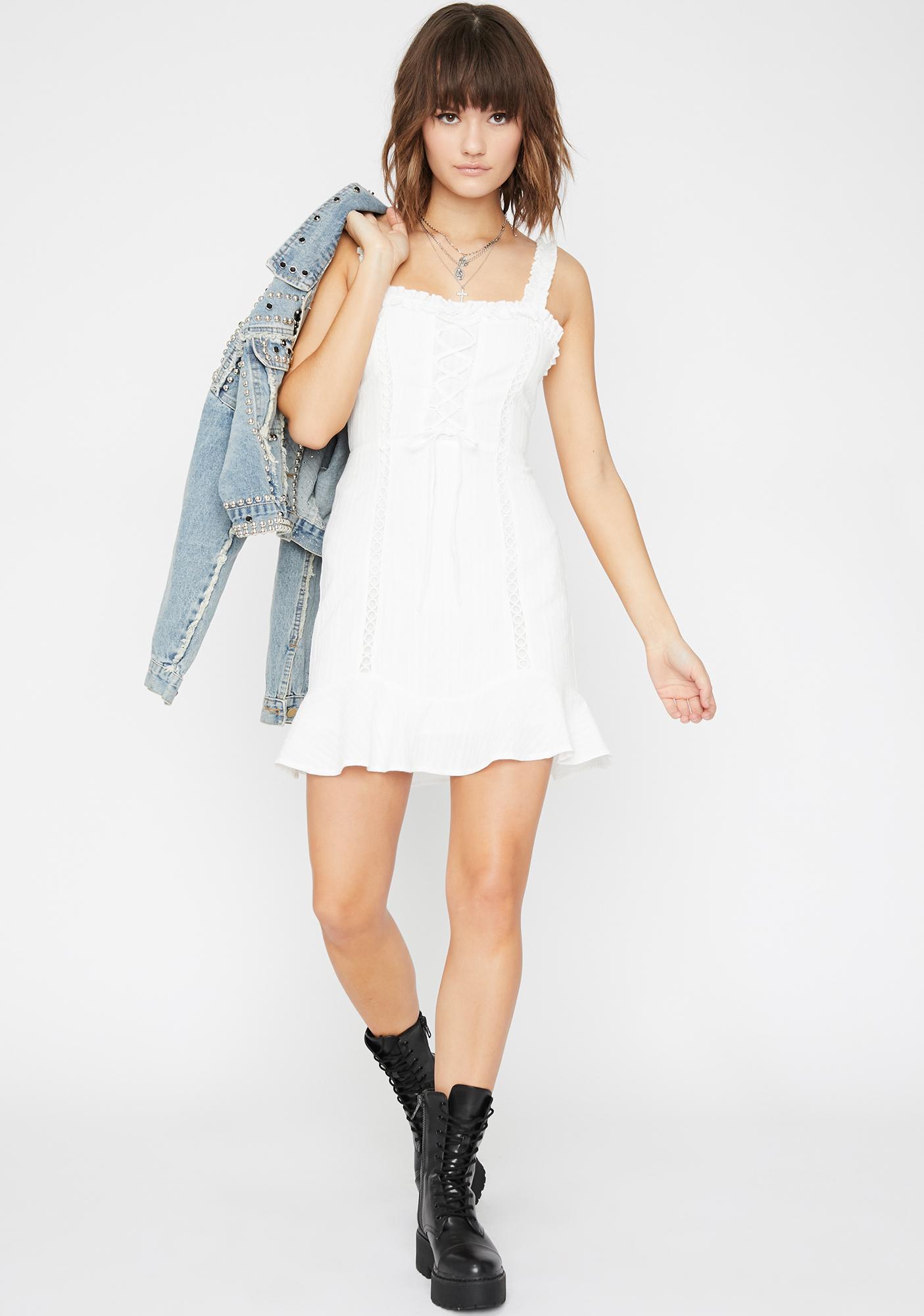 Pure Charming Kiss Mini Dress