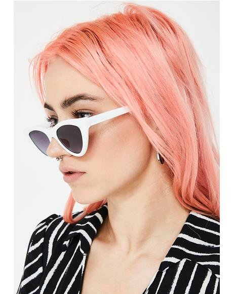 Oh So Naughty Cat-Eye Sunglasses
