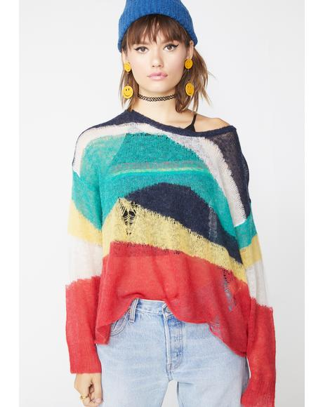 Wave Length Marvel Sweater