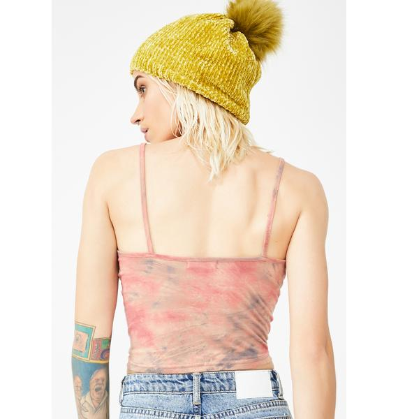 Why Not Us Mars Tie Dye Cami