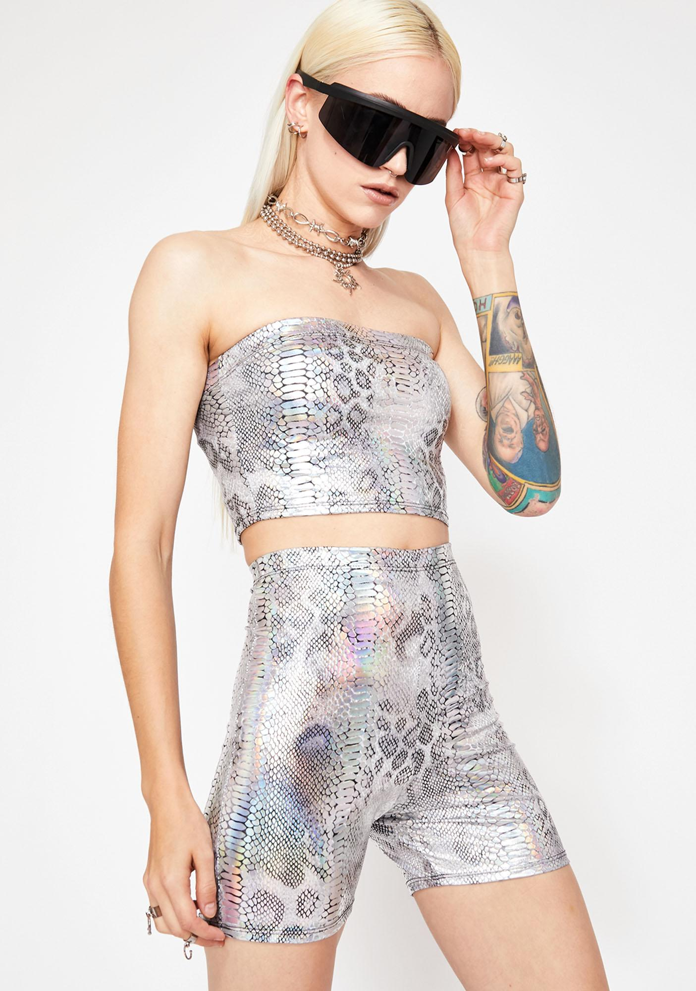 Rave Gal Holographic Snake Set