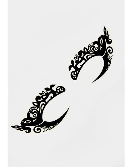 Wisteria Hysteria Temporary Eye Tattoos