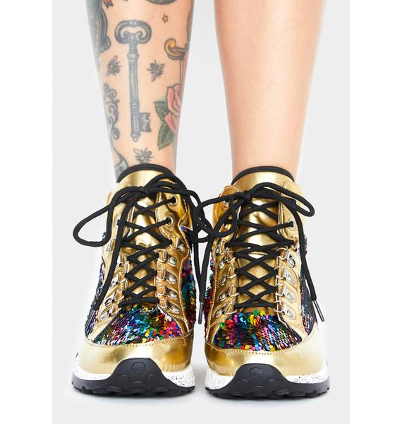 Glamour On High Platform Sneakers