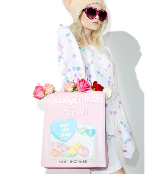 Sugar Thrillz Sassycandy Hearts Bag