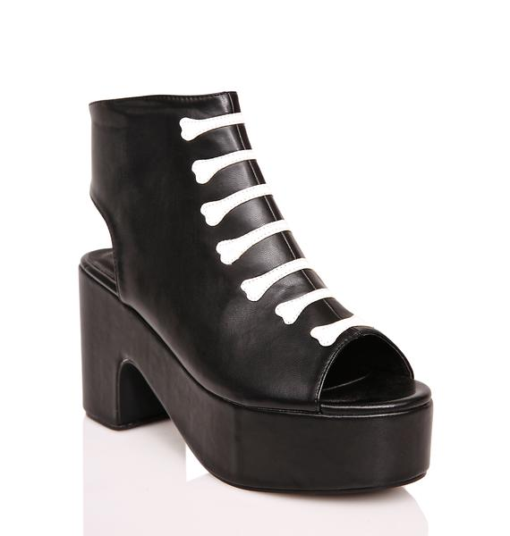 Iron Fist Wishbone Cut-Out Boots