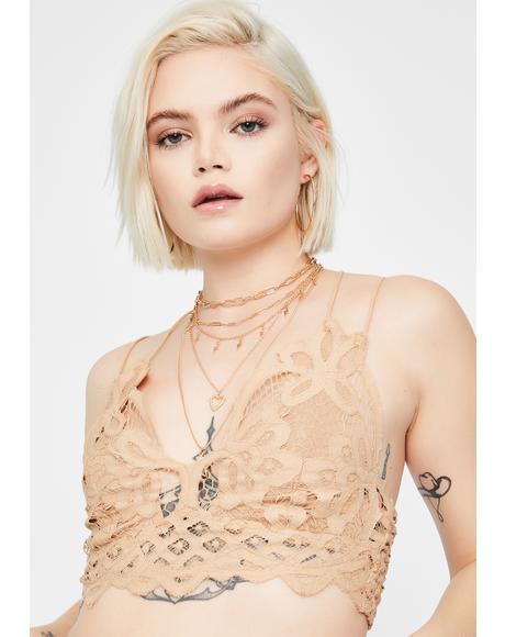 Nude Adella Crochet Bralette