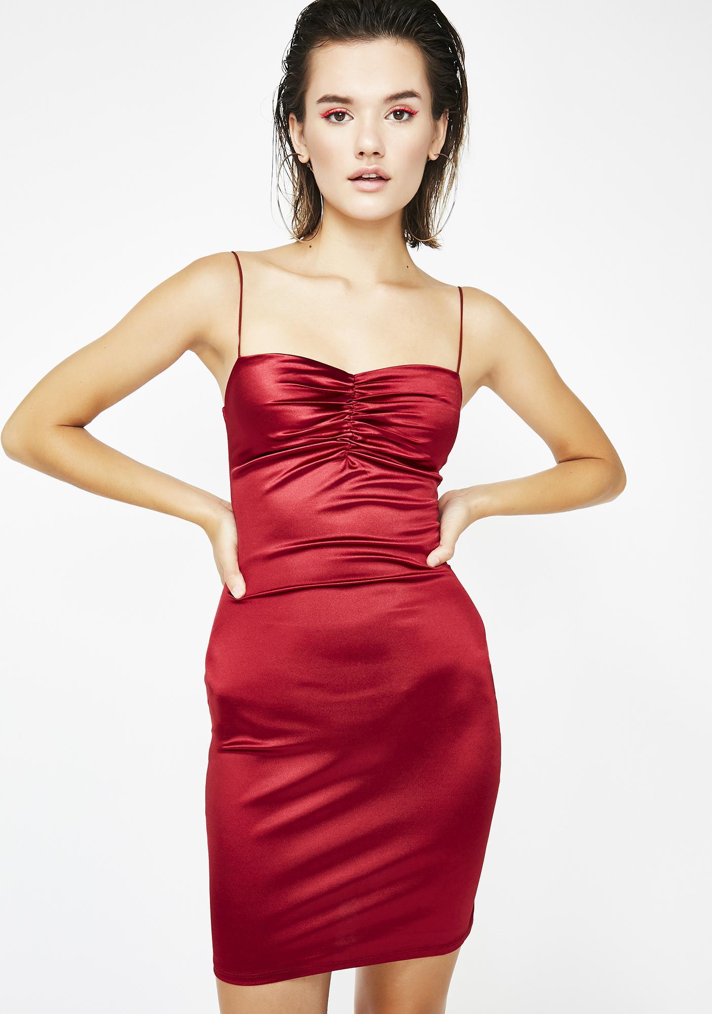 Flamin' Freak 'Em Mini Dress