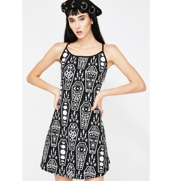 Too Fast Coffin Cuties Pentagram Dress