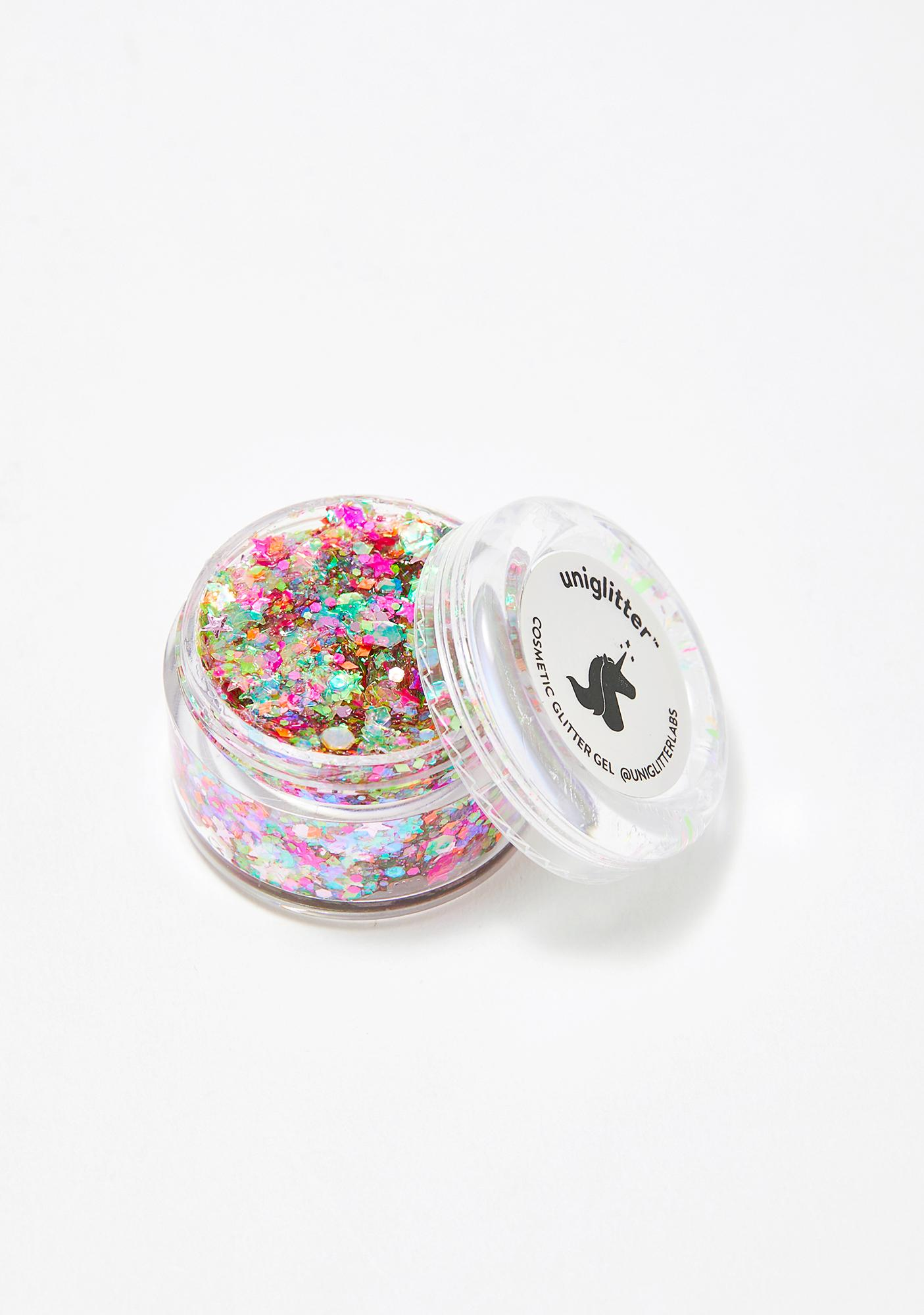Uniglitter Cosmic Rainbow UV Unicorn Glitter Gel