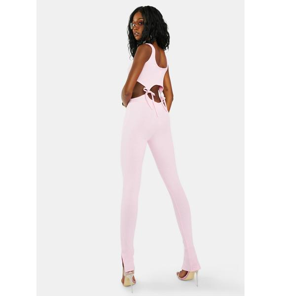 Sweet You Always Matter Cut Out Catsuit