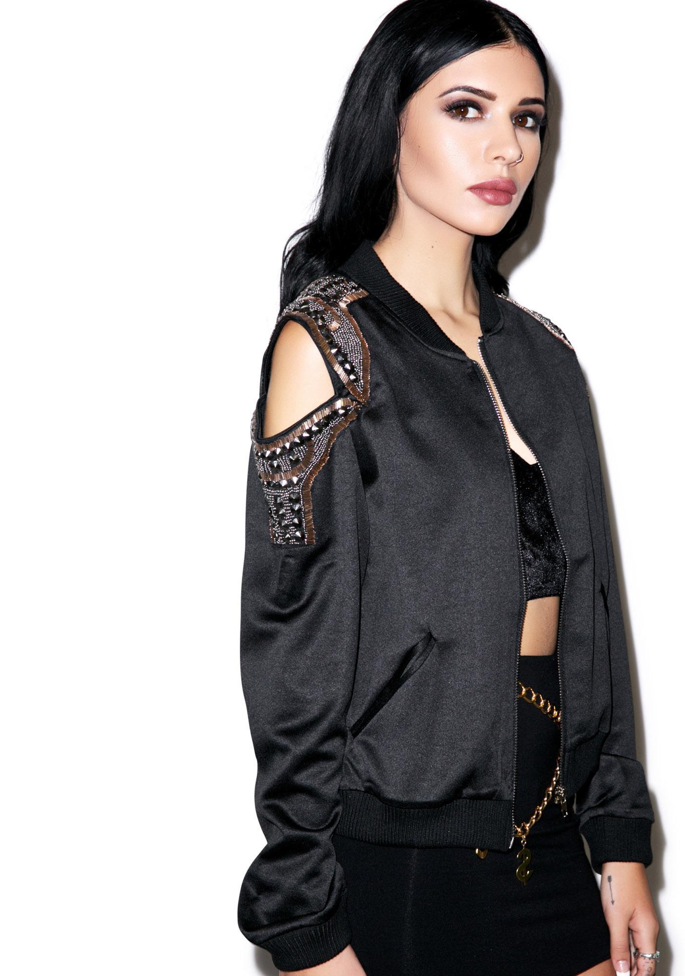Rhythm Nation Bomber Jacket