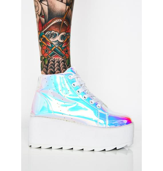 Y.R.U. Lala Hi Atlantis Platform Sneakers