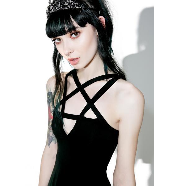 Killstar Magi Penta Skater Dress