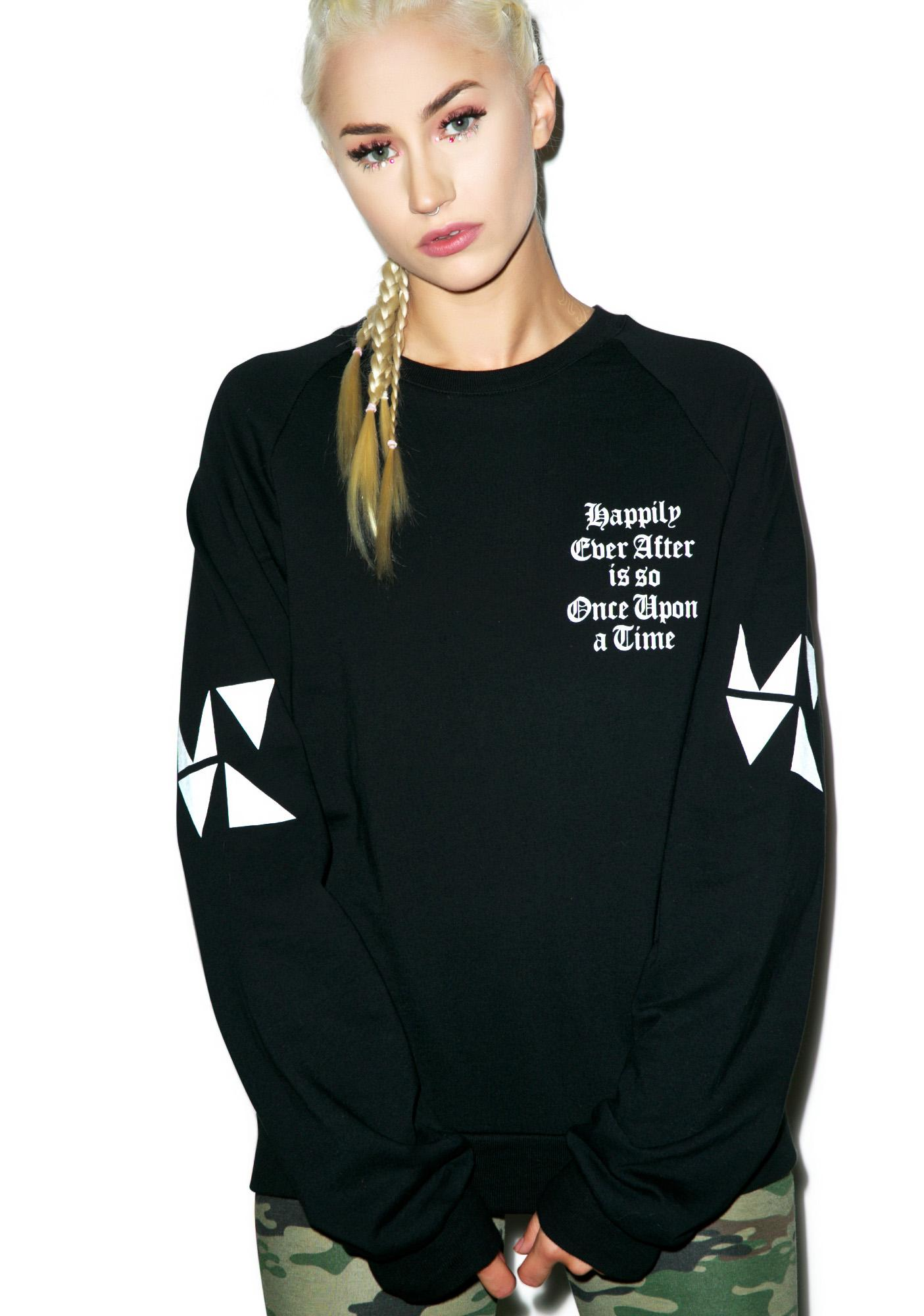MeYouVersusLife Once Upon A Time Crewneck