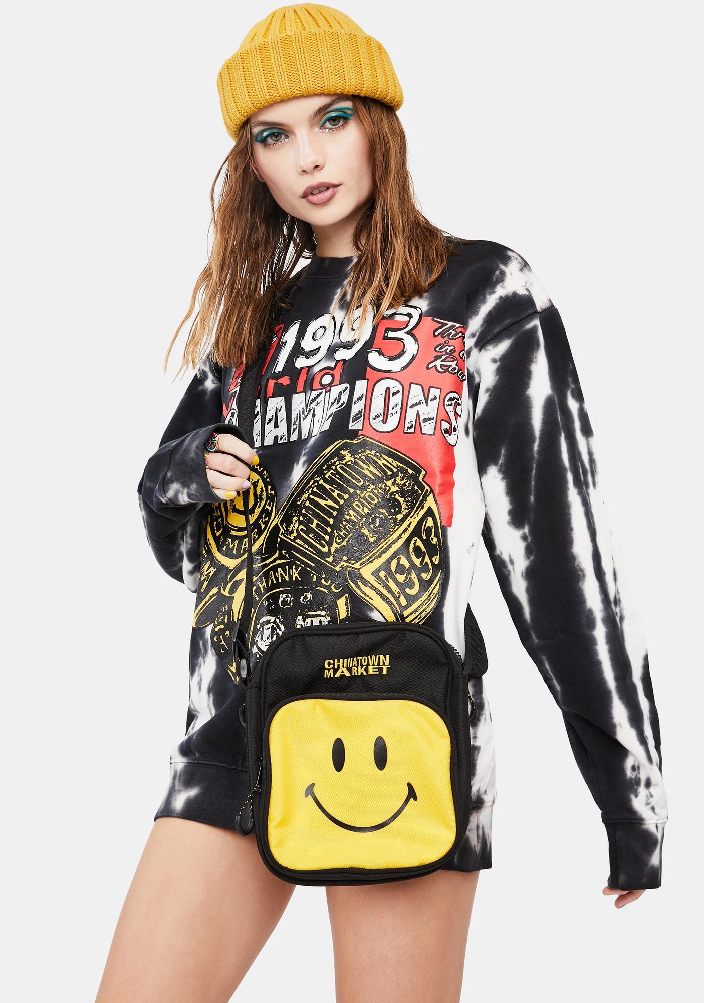 CHINATOWN MARKET Smiley Crossbody Side Bag