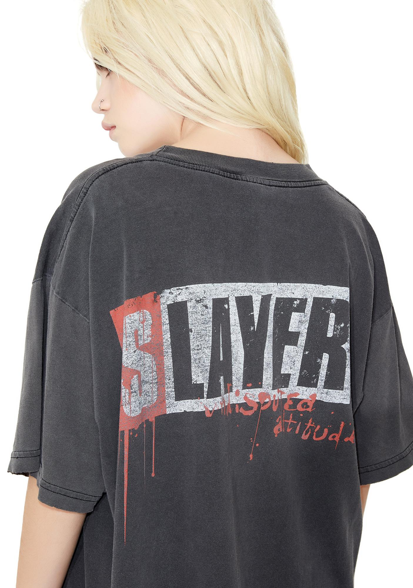 Vintage Slayer '96 Undisputed Metal Tee