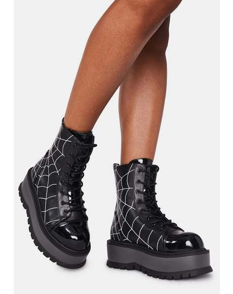 Deadly Prey Platform Boots
