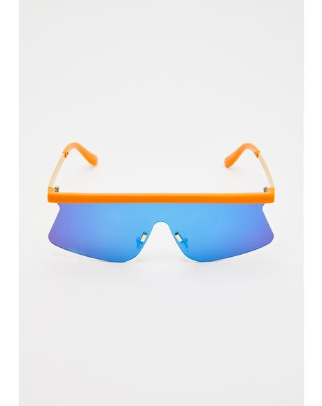Storm Crasher Shield Sunglasses