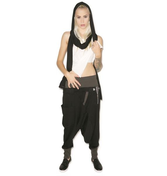 MNML Rust Drop Crotch Pants