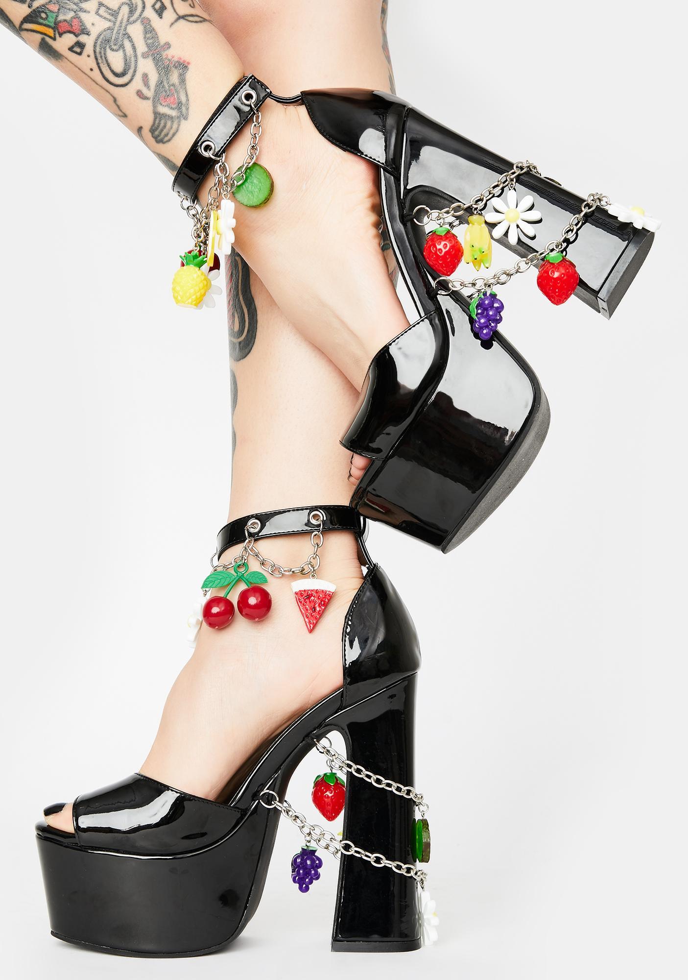 Sugar Thrillz Pick Me Platform Heels