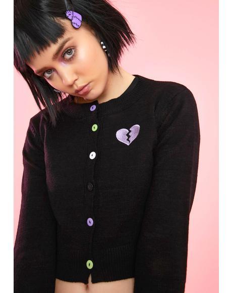 Creepy But Cute Knit Cardigan