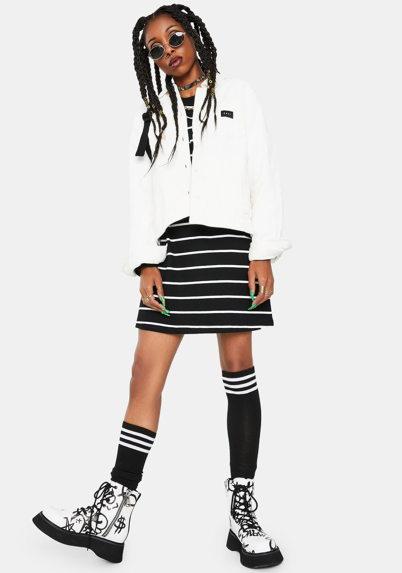 Obey Bone Splash Cord Jacket