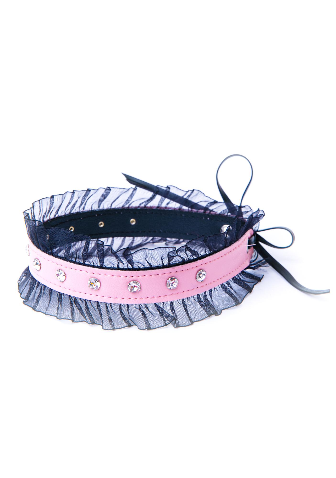 Club Exx Elvira Lace Trim Bracelet